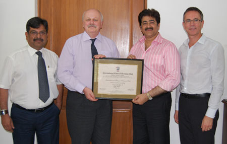 Delegation from UCLAN with Sandeep Marwah