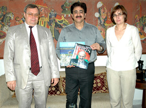 Ambassador Of Belarus and Sandeep Marwah