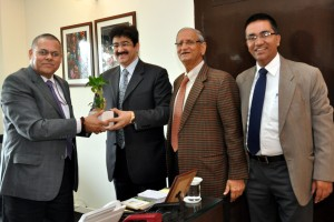 Sandeep Marwah At Ministry of I&B