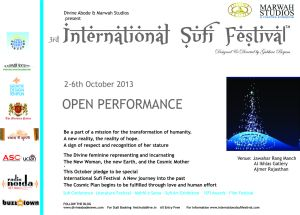 3rd International Sufi Festival India