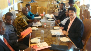 Sandeep Marwah Addressed The High Officials