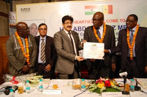 Sandeep Marwah Chairperson of ISFCA