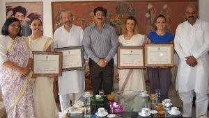 Spanish Delegation at Marwah Studios