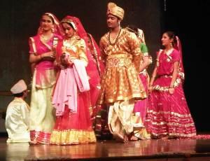 Sandeep Marwah at Bal Bharti Public School Noida