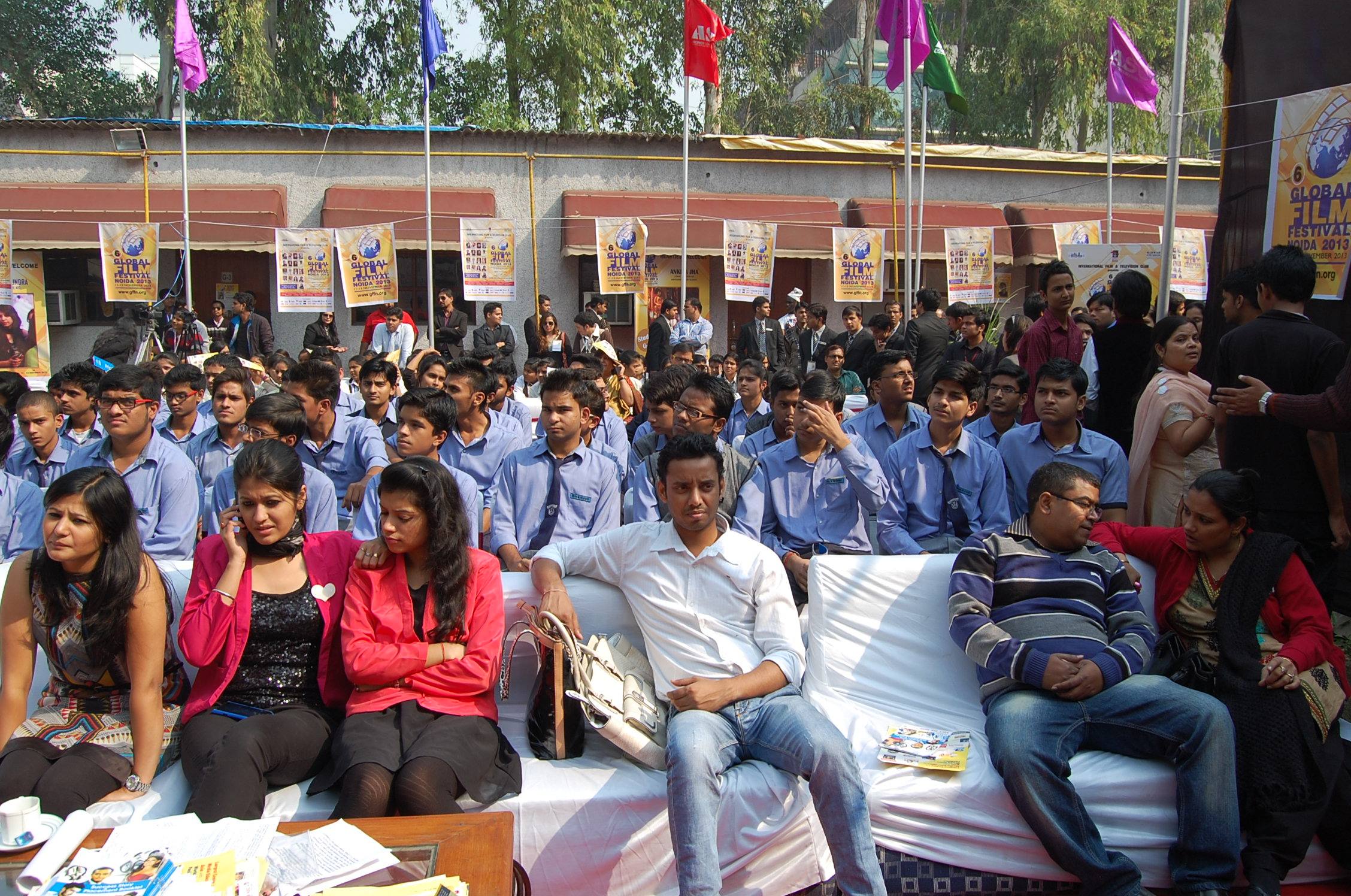 Large Participation By Schools In 6th Global Film Festival Noida