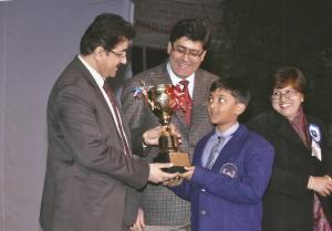 Sandeep Marwah at Khaitan Public School