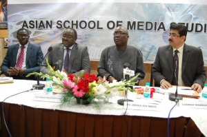 Team From Senegal Visit Sandeep Marwah