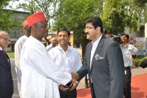 Historical Visit of Governor of Kano at Marwah Studios