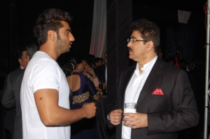 Arjun Kapoor with Sandeep Marwah