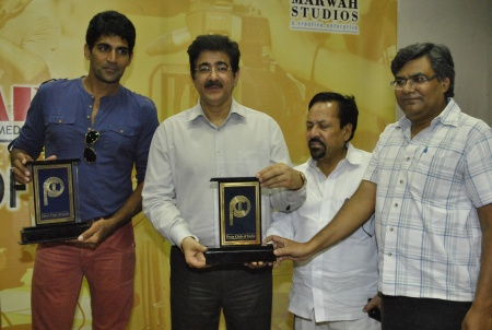 Sandeep Marwah Honored by Press Club of India