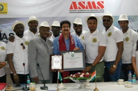 Sandeep Marwah Nominated Patron to Actors Guild of Nigeria