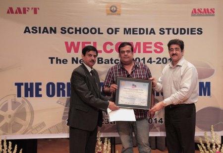 Rahul Mittra at ASMS
