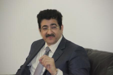Sandeep Marwah Ambassador of  IHRO