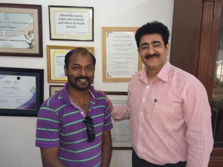 Piyush Ghosh at AAFT