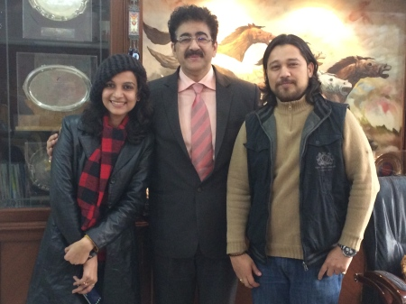 H.E. Sandeep Marwah Ambassador of Peace