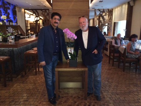 Andrew G Vajna and Sandeep Marwah