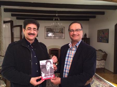 H.E. Malay Mishra Indian Ambassador to Hungary Appreciated Marwah