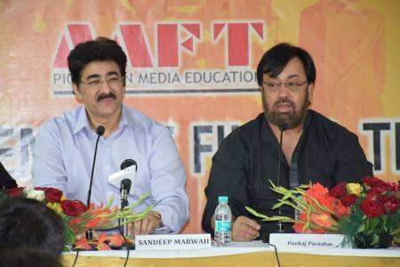 Pankaj Parashar at AAFT