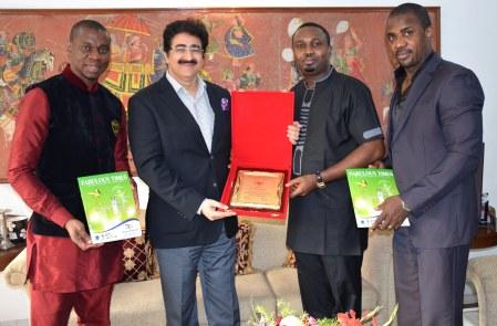 Sandeep Marwah Honoured