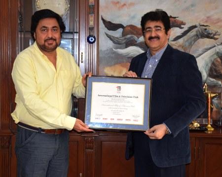 Kamal Puri at AAFT