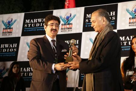 Daman Prakash Honored With Life Time Achievement Aard