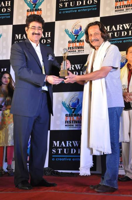 Mahesh Aney Honored at 7th GFFN
