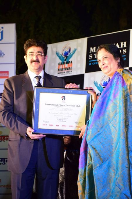 Dr Alka Agarwal Honored at GFFN