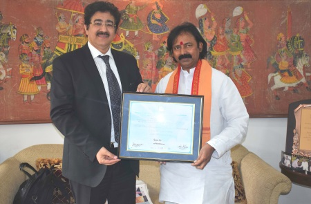 Ramana Rao Honored With Life Membership of WPDRF