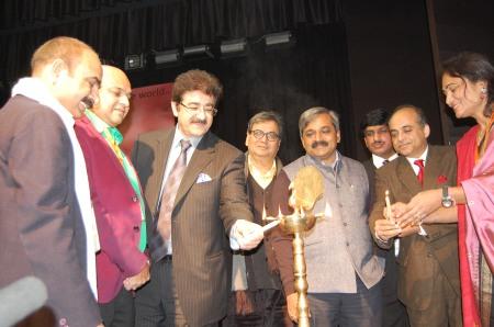 Sandeep Marwah Inaugurating 3rd Delhi International Film Festival