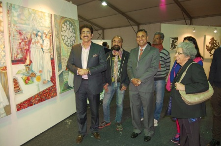 Alla Prima Inaugurated by Sandeep Marwah