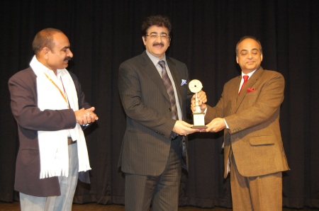 Sandeep Marwah Honored at 3rd DIFF