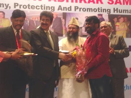 Sandeep Marwah at Award Function