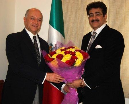 Ambassador of Mexico Met Sandeep Marwah