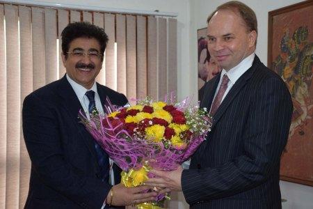 Ambassador of Poland at AAFT