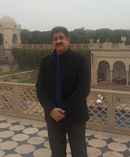 Sandeep Marwah MD NFTC at Agra
