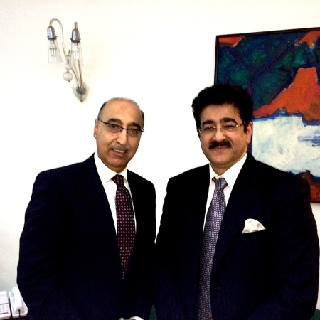 High Commissioner of Pakistan With President ICMEI