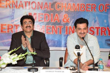 Master Class of Sanjay Kapoor at AAFT