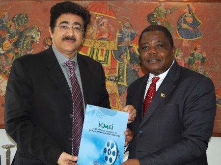 Ambassador of Zimbabwe at ICMEI Head Quarters