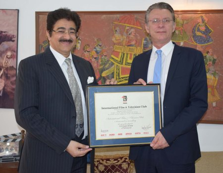 Ambassador of Austria at ICMEI Head Quarters