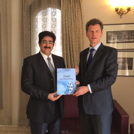 ICMEI Meets Ambassador of Iceland