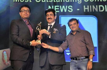 Sandeep Marwah Presented BCS Ratna Awards