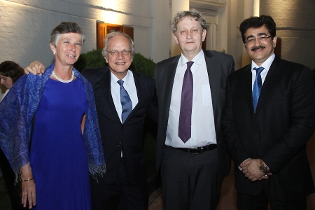 Sandeep Marwah Special Invitee at Embassy of Netherlands