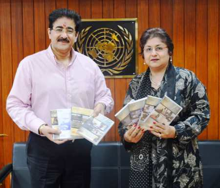 Sandeep Marwah at United Nation Information Centre