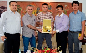 Turkish Delegation Honored Sandeep Marwah