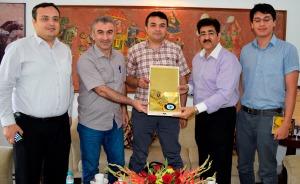 Turkish Delegation Honored Sandeep Marwah