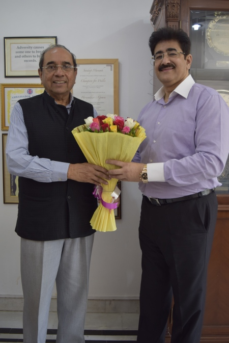 Ambassador Shashank And Sandeep Marwah
