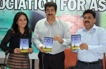 Anjali's 'Written In The Stars' Released by Sandeep Marwah