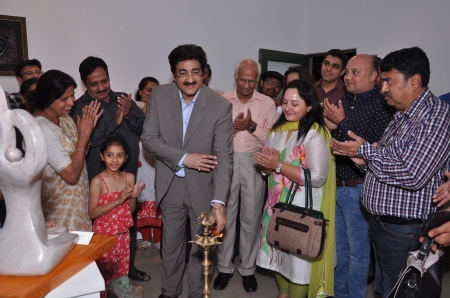 Inauguration of Exhibition of Kusum Jain