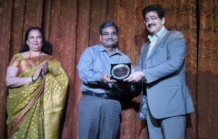 Sandeep Marwah Honored at Mewar University
