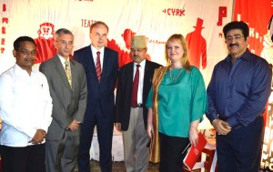 Sandeep Marwah Special Guest at Polish Institute